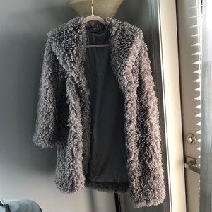 Fuzzy coat - small